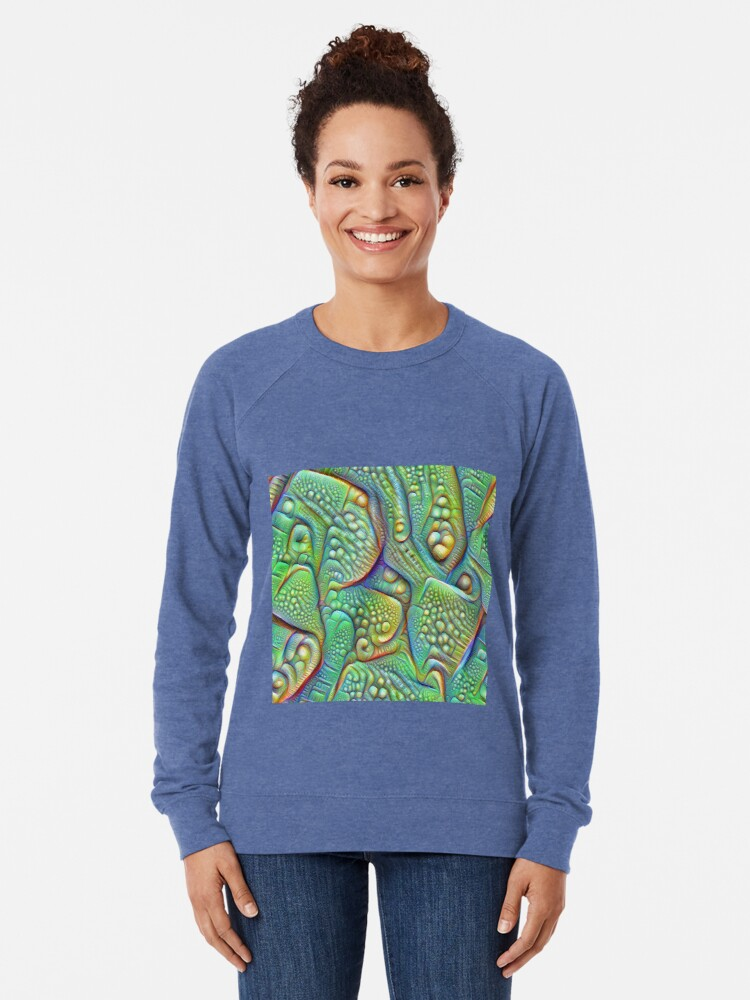 Alternate view of Abstraction #DeepDream Lightweight Sweatshirt