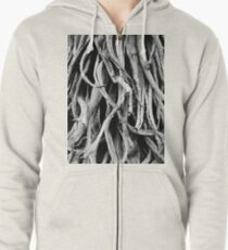 Dried out Zipped Hoodie