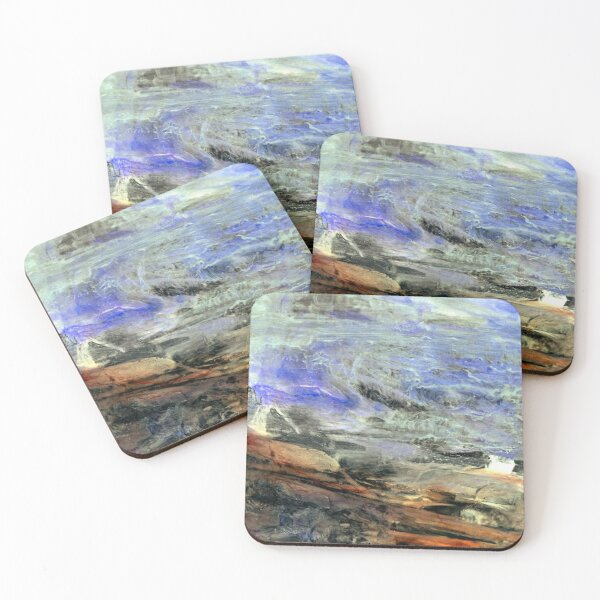 Seascape I Coasters (Set of 4)