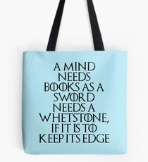 Tyrion Lannister - quote Tote Bag