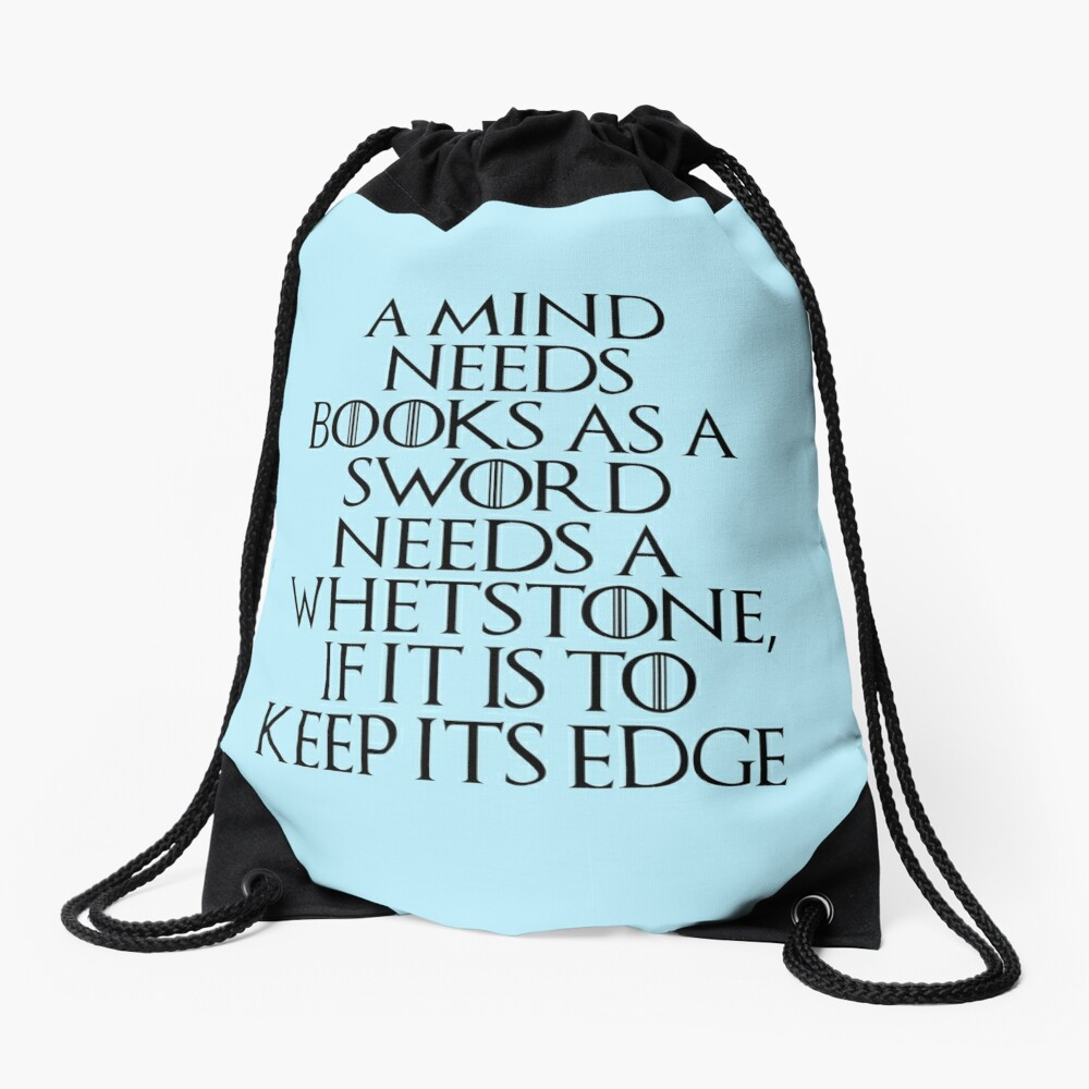Tyrion Lannister - quote Drawstring Bag