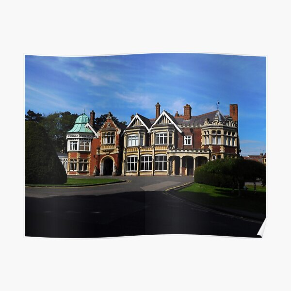Bletchley Park Poster