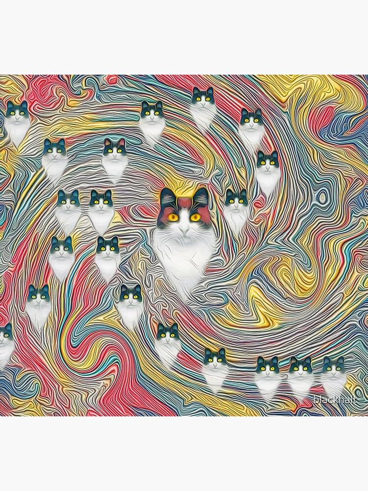 Abstract fibonacci cats by blackhalt
