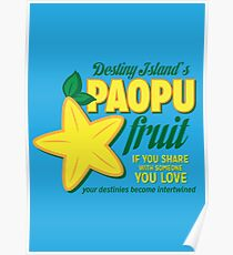 Paopu Fruit - Kingdom Hearts Poster