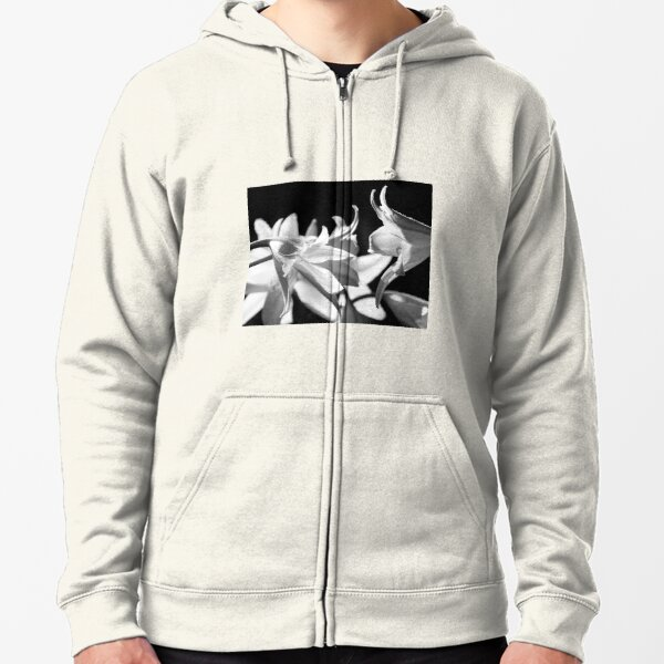 In the shadows #4 Zipped Hoodie