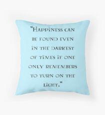 Albus Dumbledore - quote Throw Pillow