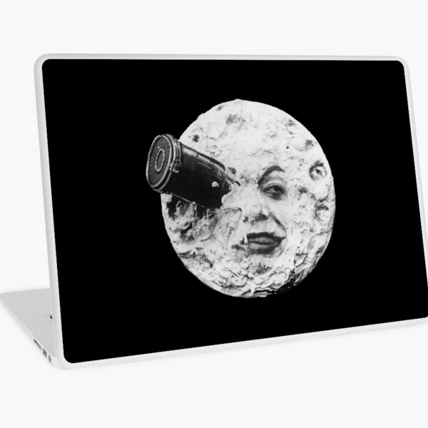 A Trip to the Moon 1902 - Artwork for Wall Art, Prints, Posters, Tshirts, Men Women Kids Laptop Skin