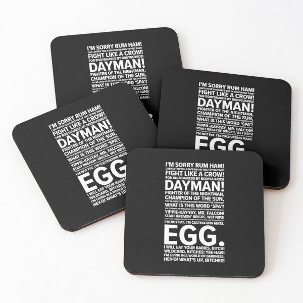 It's Always Sunny Quotes Coasters (Set of 4)