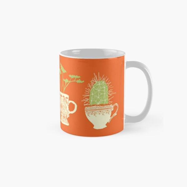 Teacup Succulents Classic Mug