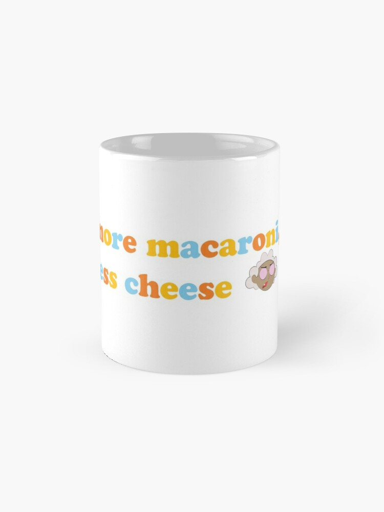 "Alternate view of Courage the Cowardly Dog™ ""More Macaroni, Less Cheese"" Mug"