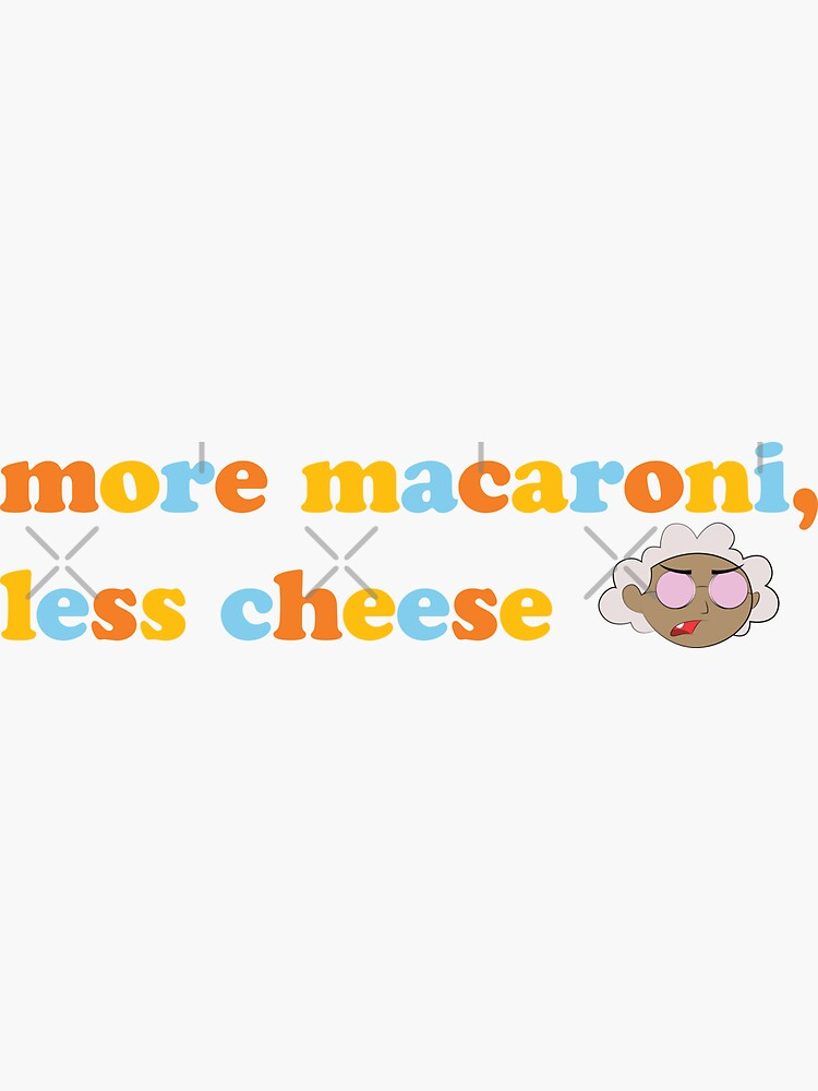 "Courage the Cowardly Dog™ ""More Macaroni, Less Cheese"" by darrianrebecca"