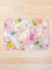 Pink Widow Bath Mat