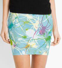 Blue Widow Mini Skirt
