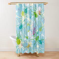 Blue Widow Shower Curtain