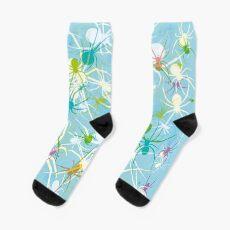 Blue Widow Sock