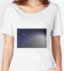 Sail Away Moon Women's Relaxed Fit T-Shirt