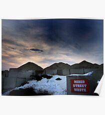 Mixed Street Waste - Lowell Dumps 2011 Poster