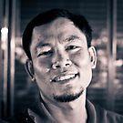 The Street Bartender. by Keegan Wong