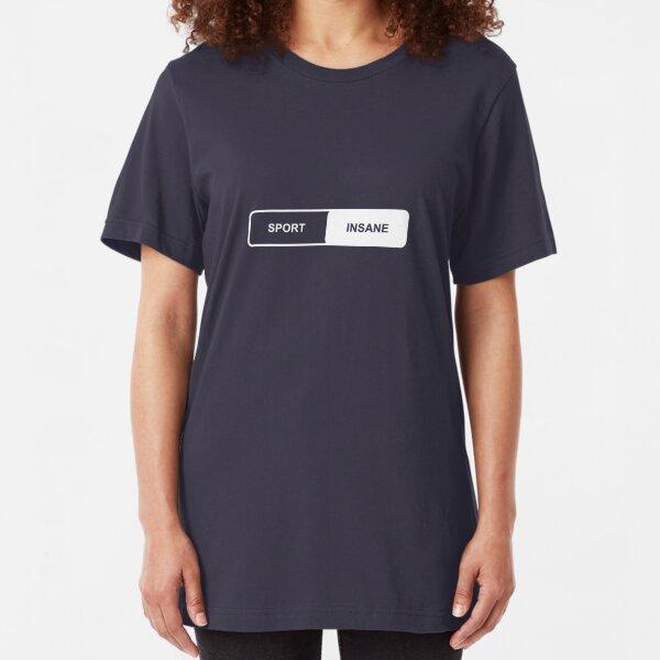 Sport   Insane - Tesla Slim Fit T-Shirt