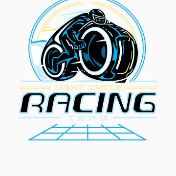 Light Cycle Racing by WinterArtwork