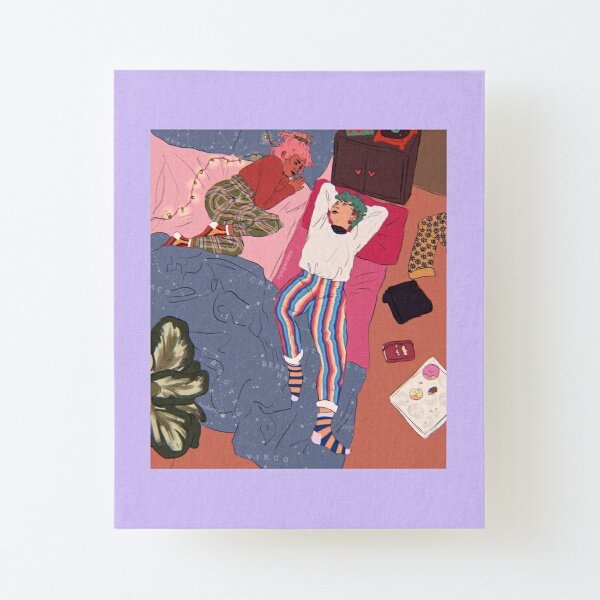 bedroom pop Canvas Mounted Print