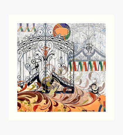 """Heaven's Gate"" Art Print"