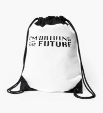 I'm Driving The Future - Model S Drawstring Bag