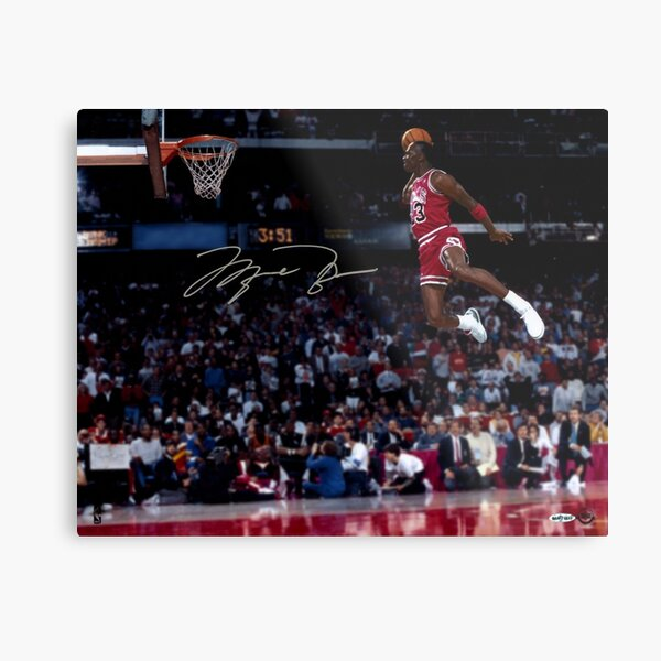 Michael Jordan meilleur jamais Impression métallique