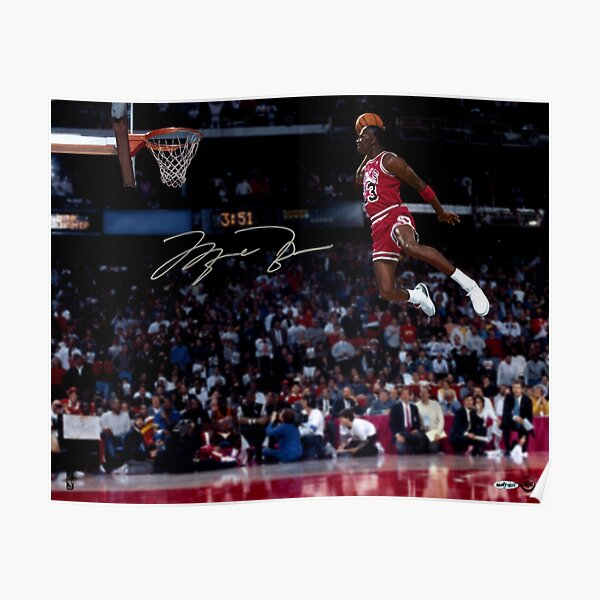 Michael Jordan Best Ever Poster