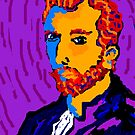 Portrait Of Vincent by Richard  Tuvey