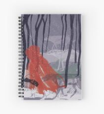 A walk with Wolves Spiral Notebook