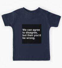 Agree to Disagree Kids Clothes