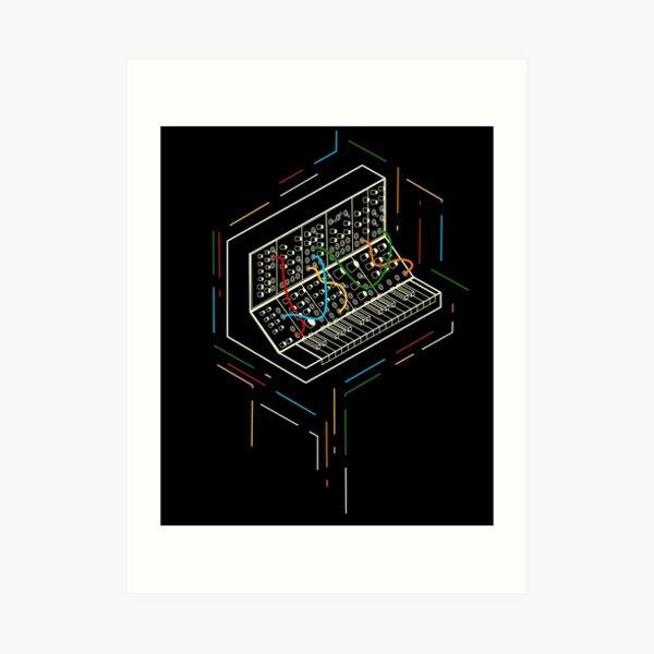 Modular Synthesizer Art Print