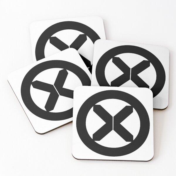 Mutant Cult Logo (Black) Coasters (Set of 4)