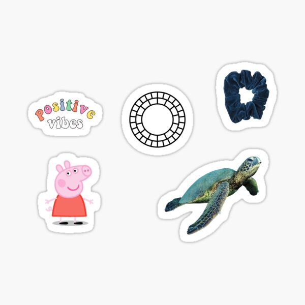 Turtle Girl Starter Name Label Pack