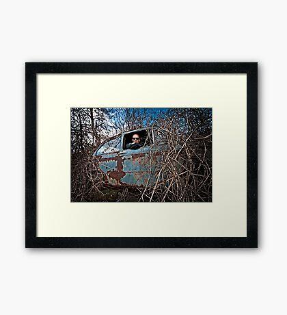 Stranded Passenger Framed Print