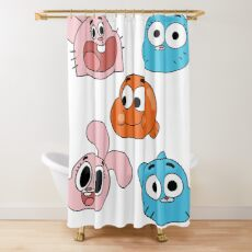 The Watterson's Shower Curtain