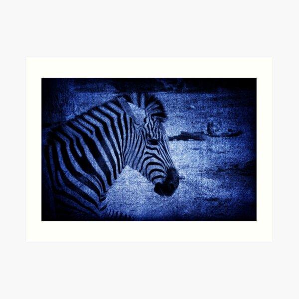 In A Blue Funk Art Print