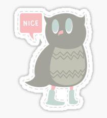 Ye Owl Sticker