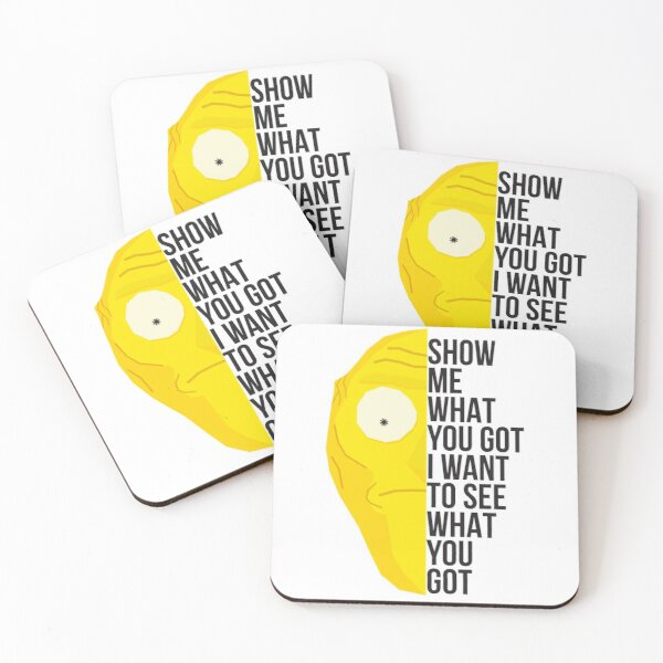 Show me Coasters (Set of 4)