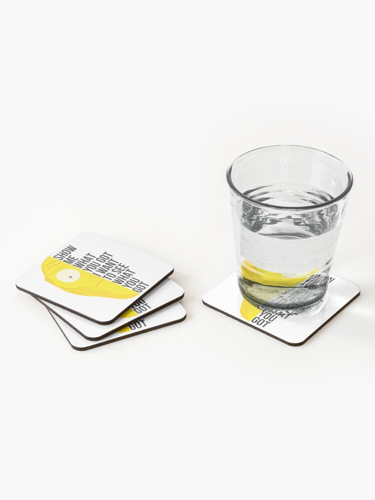 Alternate view of Show me Coasters (Set of 4)