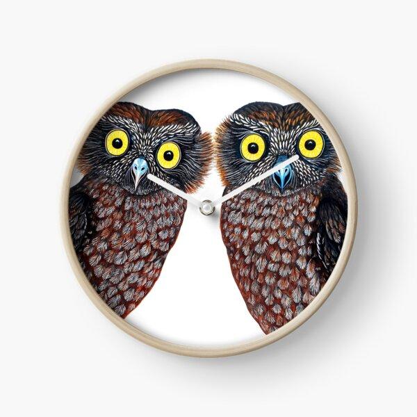 Owls - What a Hoot!  Clock