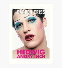Darren Criss - Hedwig Poster Art Print