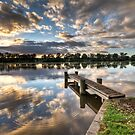 Starting the day by Dave  Hartley