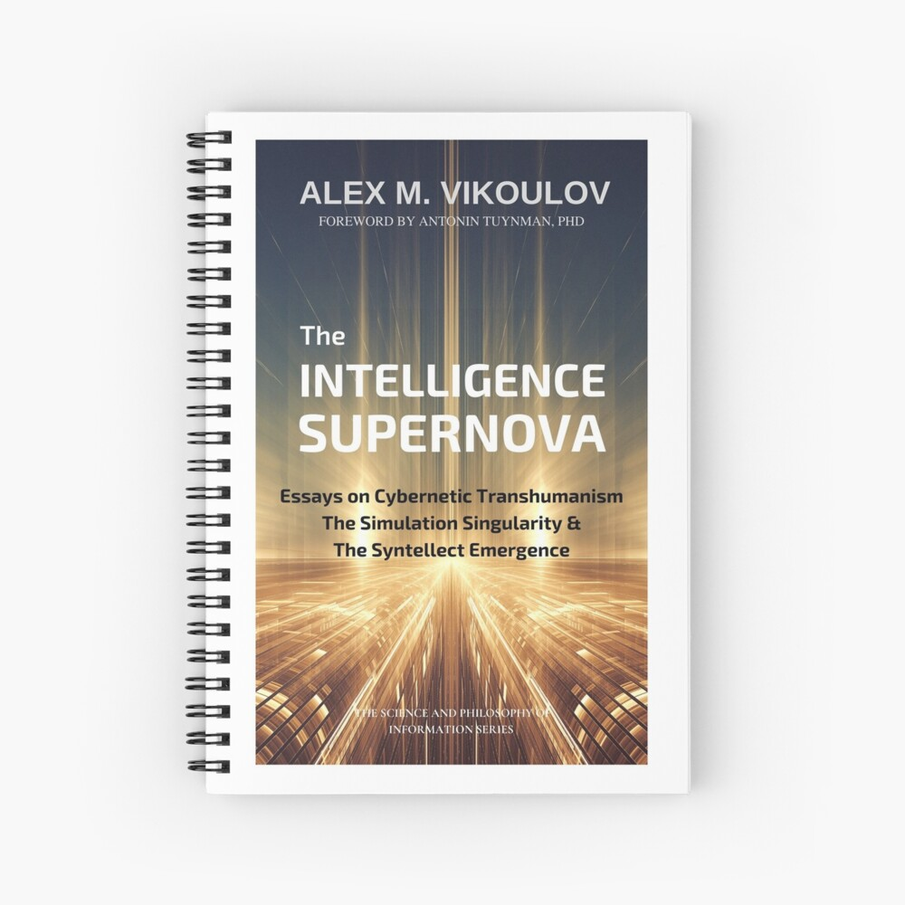 Intelligence Supernova Spiral Notebook