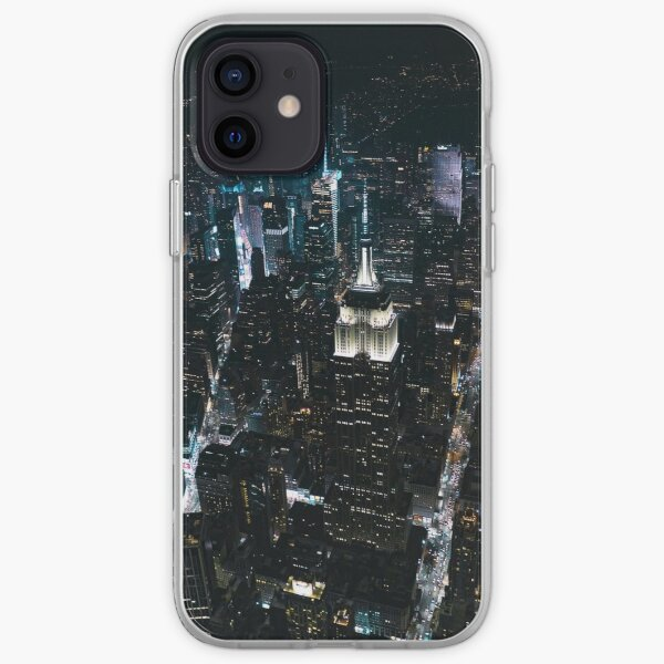 New York City Lights iPhone Soft Case