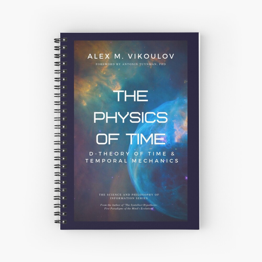 The Physics of Time Spiral Notebook