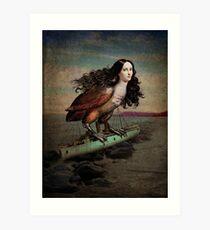 The catch Art Print