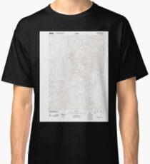 USGS Topo Map Oregon Grizzly Peak 20110812 TM Classic T-Shirt