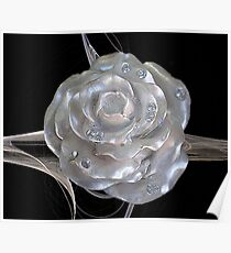 Jeweled Rose Poster